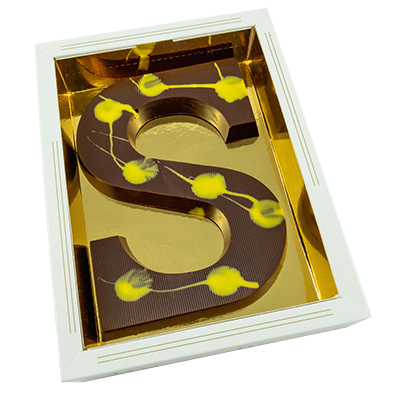 Limoncello chocolade letter